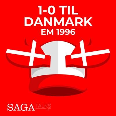 1-0 til Danmark - EM 1996 Michael Ørtz Christiansen, Morten Olsen 9788726046960