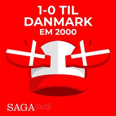 1-0 til Danmark - EM 2000 Michael Ørtz Christiansen, Morten Olsen 9788726046984