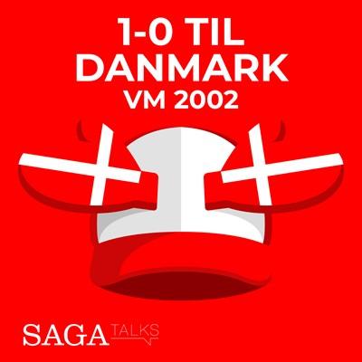 1-0 til Danmark - VM 2002 Michael Ørtz Christiansen, Morten Olsen 9788726046977