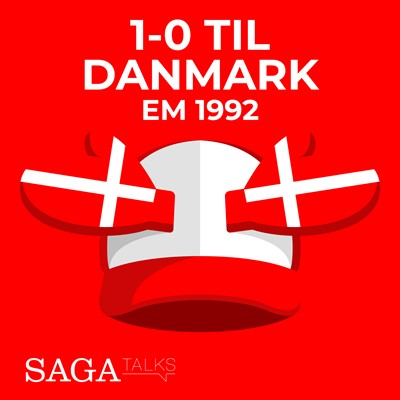 1-0 til Danmark - EM 1992 Morten Olsen, Michael Ørtz Christiansen 9788726046953