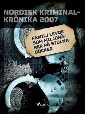 Familj levde som miljonärer på stulna böcker – Diverse 9788711974360