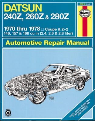 Datsun 240Z, 260Z & 280Z (70 - 78) J. H. Haynes, Peter G. Strasman 9780856962066