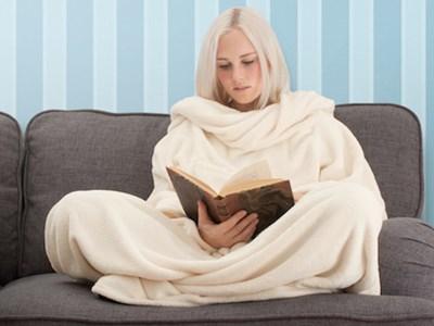 Snug-Rug - tæppe med ærmer - Grøn  5060129446108