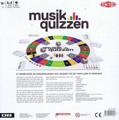 Spil - Musikquizzen  6416739410746