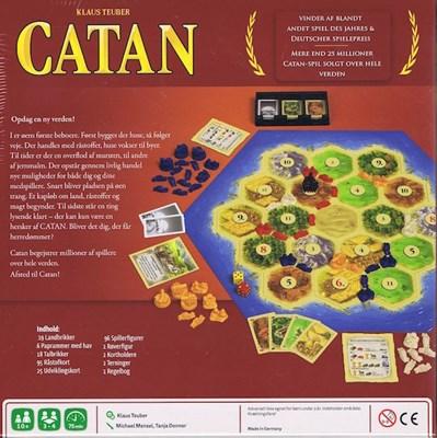 Spil - Settlers fra Catan  6430018274034