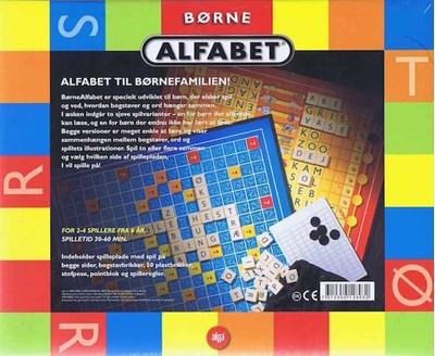 Spil - Børne Alfabet  7312350128932
