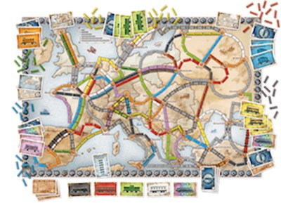 Spil - Ticket to Ride Europe  5713662005027