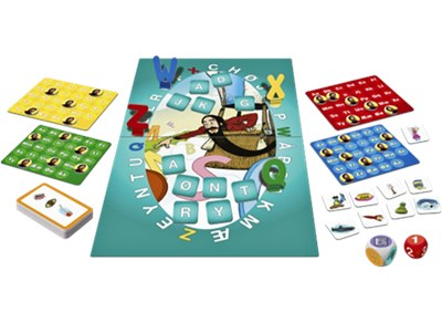 Spil - Skæg med bogstaver  6416739405216