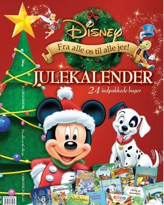 Disney Julekalender Karrusel Forlag 9788771861075
