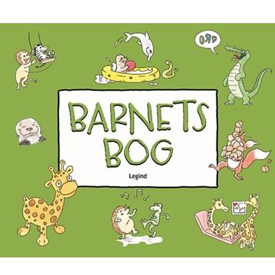 Barnets bog med dyreillustrationer  9788771555370