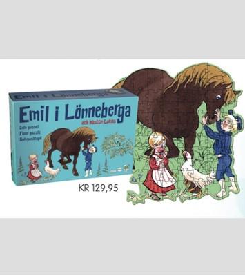 Emil fra Lønneberg Gulvpuslespil Ukendt forfatter 5704976087045