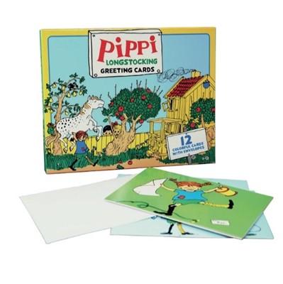 Pippi Langstrømpe - Kunstkort  5704976086062
