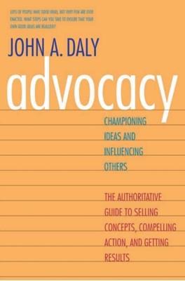 Advocacy John A. Daly 9780300188134