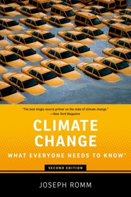 Climate Change Joseph (Senior Fellow Romm 9780190866105