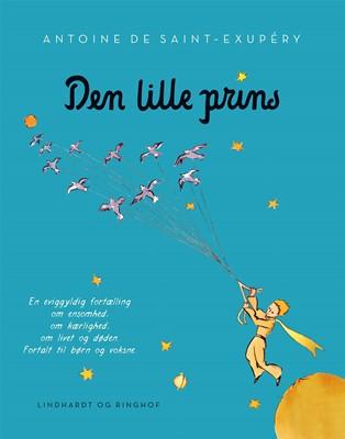 Den lille prins, lyseblå softcover m. flapper Antoine de Saint-Exupéry 9788711909362