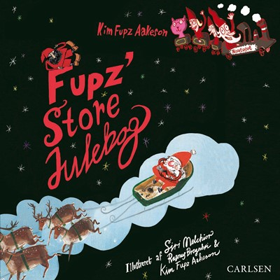 Fupz' store julebog Kim Fupz Aakeson 9788726095005