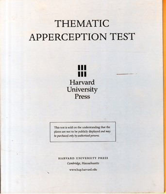 Thematic Apperception Test Henry A. Murray 9780674877207