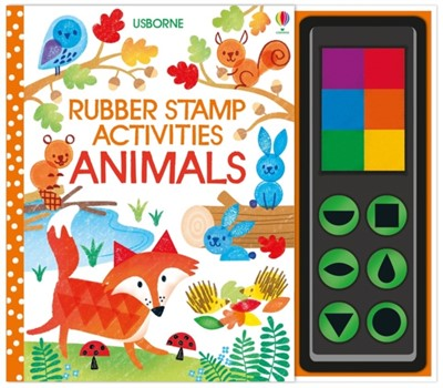 Rubber Stamp Activities Animals Fiona Watt 9781474953580