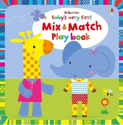 Baby's Very First Mix and Match Playbook Fiona Watt 9781474953641