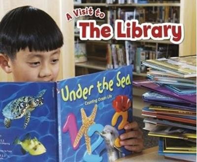 The Library Blake A. Hoena 9781474756334