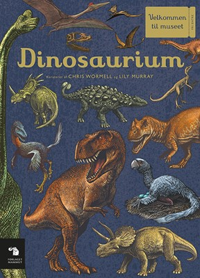 Dinosaurium Chris Wormell, Lily Murray 9788797069103