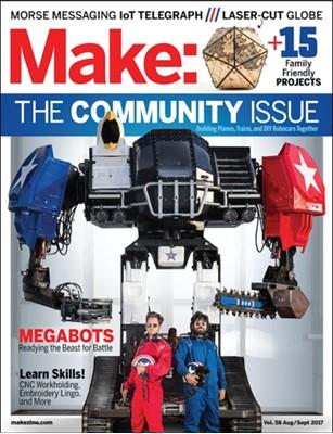 Make: Volume 58 Mike Senese 9781680453621