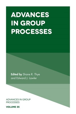 Advances in Group Processes  9781787690141