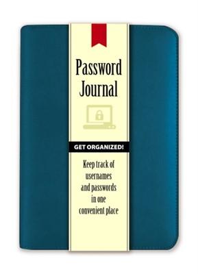 Password Journal: Caribbean Blue Publications Dover 9780486825588