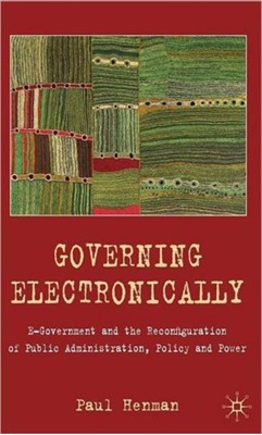 Governing Electronically Paul Henman 9780230205888