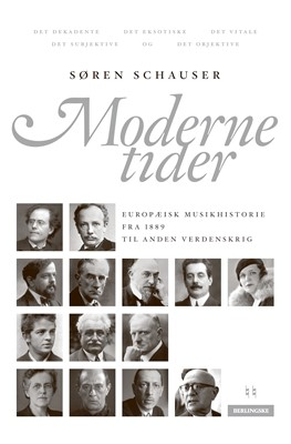 Moderne tider Søren Schauser 9788772009094