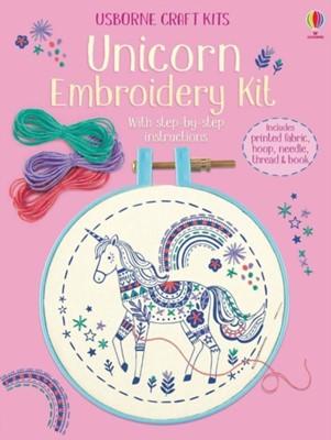 Embroidery Kit: Unicorn  9781474957540