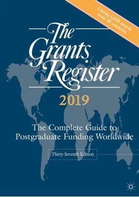 The Grants Register 2019  9781349958092