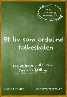 Et liv som ordblind i folkeskolen Jesper Sehested 9788799984145