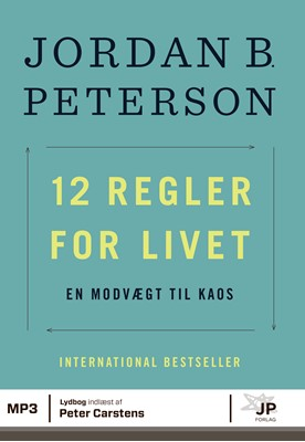 12 regler for livet Jordan  B. Peterson, Jordan B. Peterson 9788740052824
