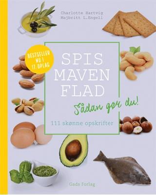 Spis maven flad Charlotte Hartvig, Majbritt L. Engell 9788712047735