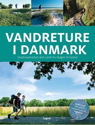 Vandreture i Danmark Torben Gang Rasmussen 9788771555974