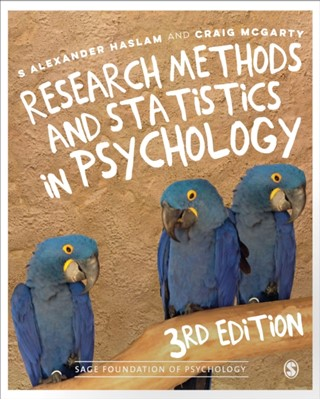 Research Methods and Statistics in Psychology Craig McGarty, S. Alexander Haslam 9781526423283
