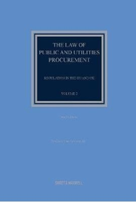 The Law of Public and Utilities Procurement Volume 2 Professor Sue Arrowsmith 9780414024915