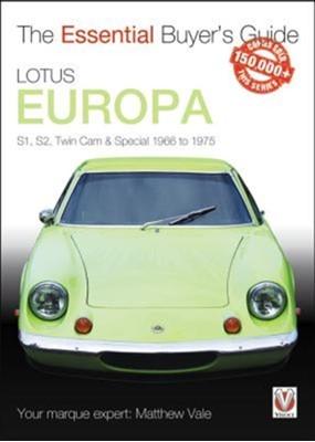 Lotus Europa Matthew Vale 9781787112872