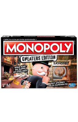 Spil - Monopoly Cheaters Edition  5010993511150
