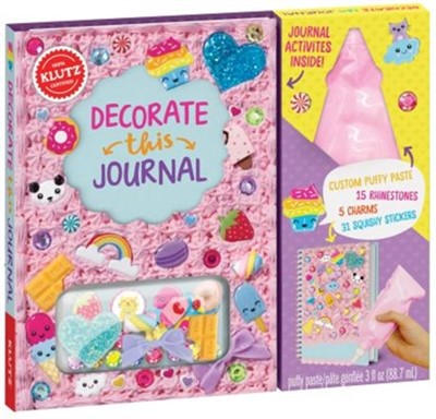 DECORATE THIS JOURNAL EDITORS OF KLUTZ 9781338106374