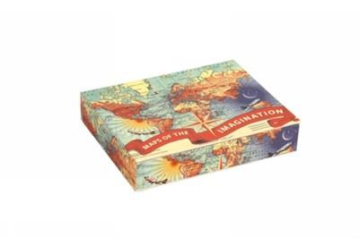 Wendy Gold Maps of the Imagination Keepsake Box Galison 9780735339880