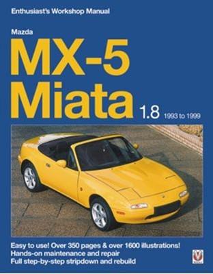 Mazda MX-5 Miata 1.8 Enthusiast's Workshop Manual Rod Grainger 9781787114203
