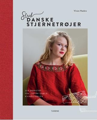 Strik danske stjernetrøjer Vivian Høxbro 9788740653724