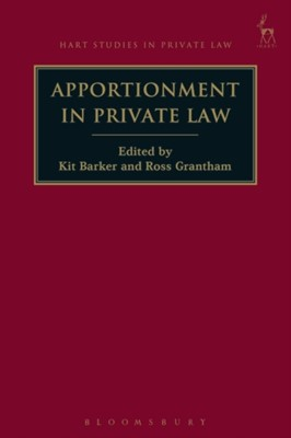 Apportionment in Private Law  9781509917501