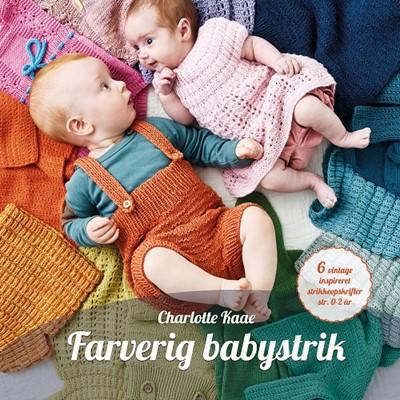 Farverig babystrik Charlotte Kaae 9788799857715