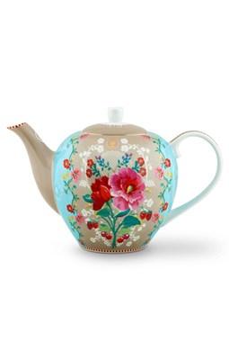 PIP Studio - Tekande, Floral Rose Khaki large  8718924026588