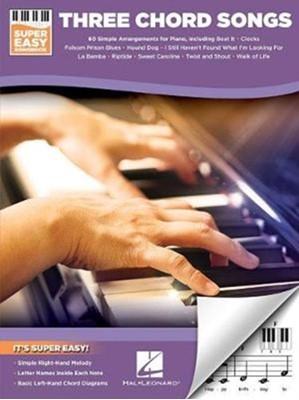 Three Chord Songs Hal Leonard Publishing Corporation 9781540005670