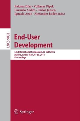End-User Development  9783319184241