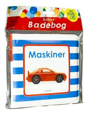 Babys badebog: Maskiner (med pivelyd)  9788711904787